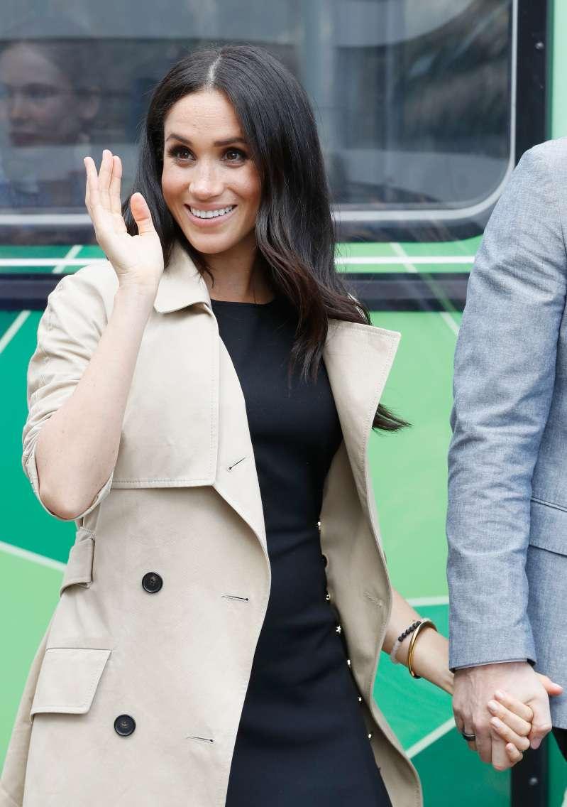 O próximo bebê real será bem apressadinho!  Meghan Markle já mostra barriguinha saliente em evento oficial, the duchess of sussex