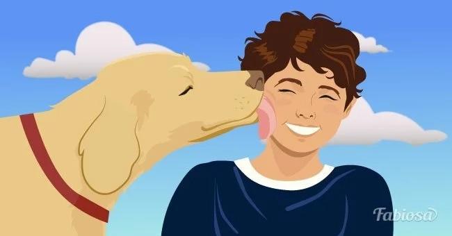 Hunde können, dank ihres Geruchssinns, hormonelle oder emotionale Veränderungen beiihren Besitzern wahrnehmen.
