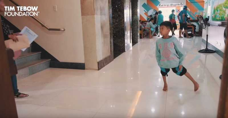 3-Year-Old Girl With Twisted Legs Took Her First Steps
