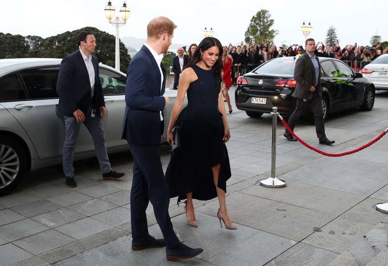 Is Meghan Markle Overworking In Heels? Duchess Sighted With A Bunion While Barefoot On Tour In New ZealandIs Meghan Markle Overworking In Heels? Duchess Sighted With A Bunion While Barefoot On Tour In New Zealand in new zealand