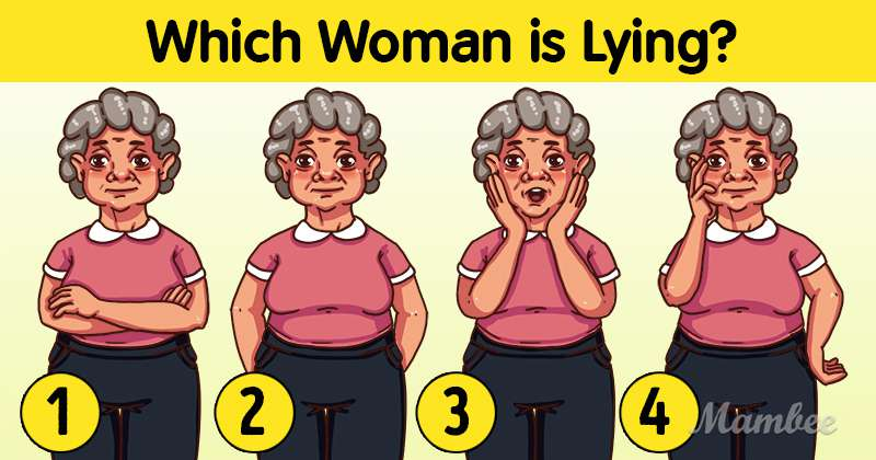 Logica enigma delle donne bugiarde: è difficile individuare una donna che non sta dicendo la verità
