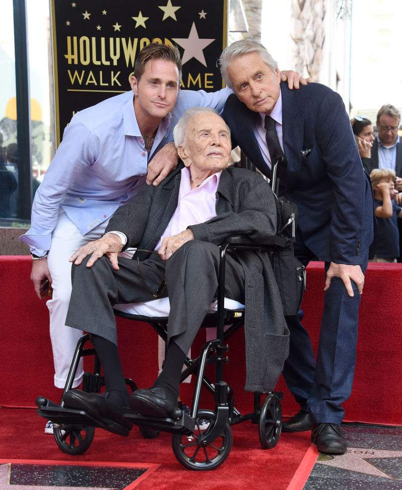 Image result for kirk douglas obituary 103 birthday