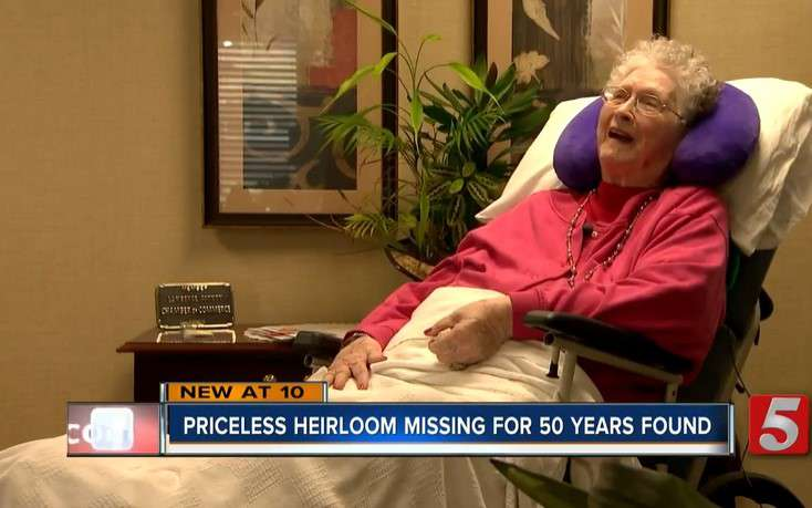 'I Didn't Think I'd Ever See It Again': 94-Year-Old Woman Is Thrilled To Reunite With Her Wedding Ring 50 Years After It Went Missing'I Didn't Think I'd Ever See It Again': 94-Year-Old Woman Is Thrilled To Reunite With Her Wedding Ring 50 Years After It Went Missing'I Didn't Think I'd Ever See It Again': 94-Year-Old Woman Is Thrilled To Reunite With Her Wedding Ring 50 Years After It Went Missing