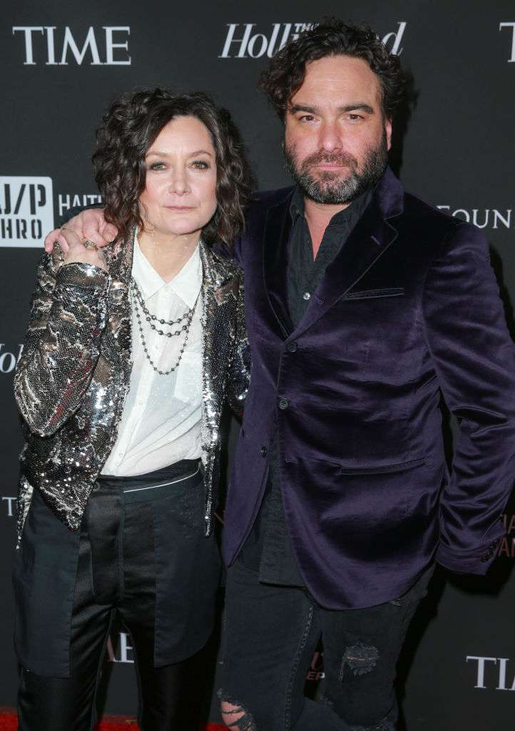 "Sara Gilbert On How Johnny Galecki Helped Her Realize She Was Gay: ""He Was Super Sweet About It"""