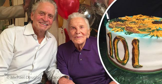 a 101 ans kirk douglas r v le les changements de style de vie qui aident vivre longt sur. Black Bedroom Furniture Sets. Home Design Ideas