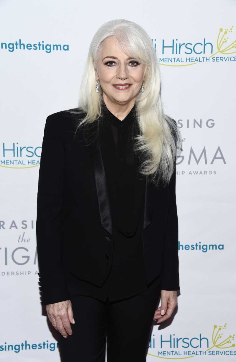 Cynthia Germanotta arrives at the Didi Hirsch Mental Health Services' 2018 Erasing The Stigma Leadership Awards