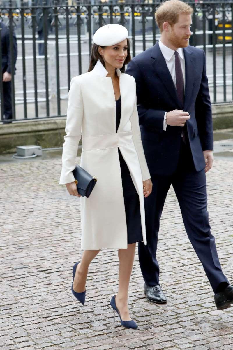 Parece que Meghan Markle encontró a su abrigo favorito, ¡ya lo ha usado tres veces!meghan markle