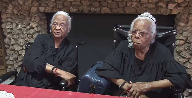 identical twins celebrate 102 years of life