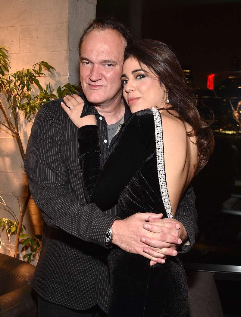 Quentin Tarantino, soltero hasta los 55, fue finalmente conquistado por la hermosa Daniella Pick