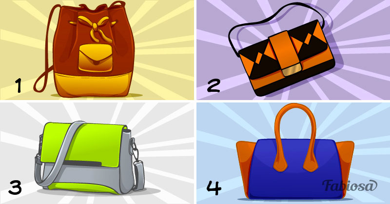 d18cd34dd8 Quale borsa ti è piaciuta per prima? LEGGETE ANCHE: Il test dei colori di  Luscher rivela la tua ...