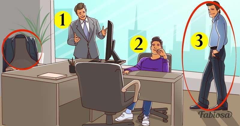 Test de logique : à qui appartient ce bureau ?logical riddle