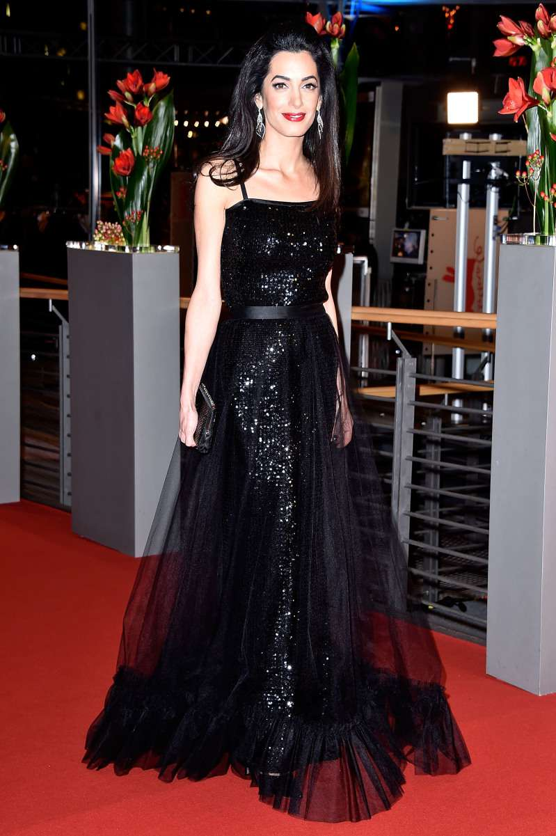 No One's Perfect: Amal Clooney In A Tumbled Dress Looked As If She Forgot To Iron It
