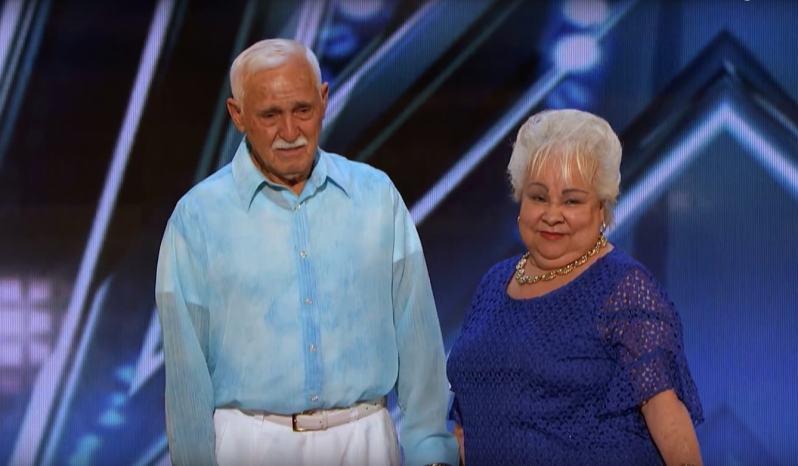 Un couple de seniors montre qu'ils n'ont rien perdu de leur fougue de jeunesse sur le plateau d'une émission de talentscelina filiberto america's got talent 2018