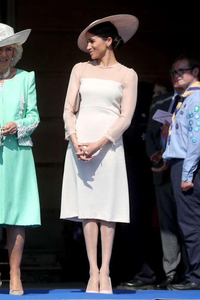 Fashion Battle Of The Duchesses: Meghan Markle And Kate Middleton In Royal Whitekate middleton tiara
