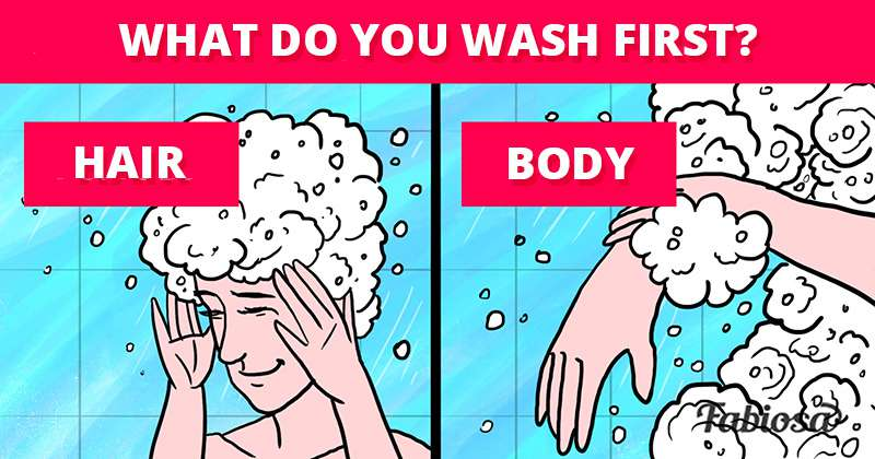 What Do You Wash First When Taking A Shower? Turns Out, There's The Right Way!