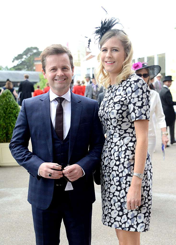 Declan Donnelly and wife Ali Astall, Declan Donnelly