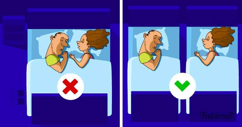 Zusammen oder getrennt? Warum es gut für ein Paar ist, in g