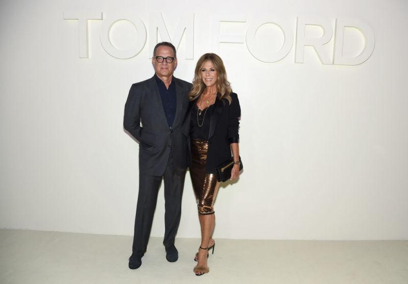 Tom Hanks and Rita Wilson at NYFW