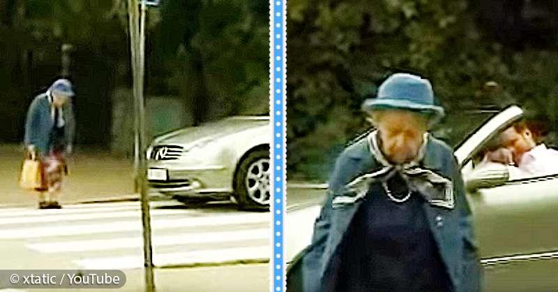 Voiture Ne Demarre Pas >> Une vieille dame traverse la route mais un conducteur s ...