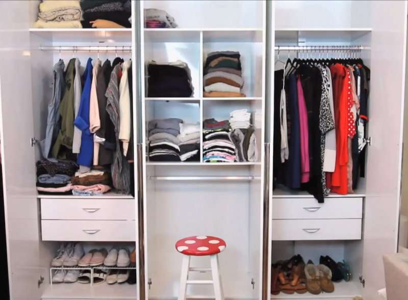 comment bien ranger ses v tements 5 id es et conseils ing nieux sur fabiosa. Black Bedroom Furniture Sets. Home Design Ideas