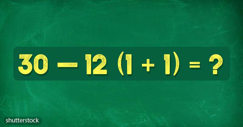 Trip Back To School: Solving A Simple Equation Can Boost Your Logical Thinking