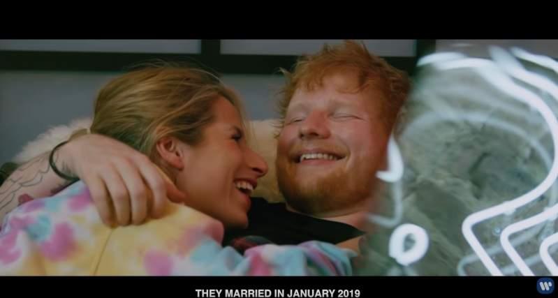 De l'amour plein les yeux ! La femme d'Ed Sheeran en vedette dans son vidéoclip et tous les fans sont émus