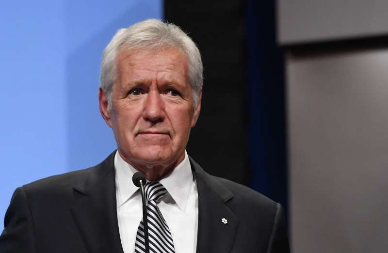 "Alex Trebek Follows His Promise ""To Fight Pancreatic Cancer"" As He Is Happily Back At 'Jeopardy!'Alex Trebek Follows His Promise ""To Fight Pancreatic Cancer"" As He Is Happily Back At 'Jeopardy!'Alex Trebek Follows His Promise ""To Fight Pancreatic Cancer"" As He Is Happily Back At 'Jeopardy!'"