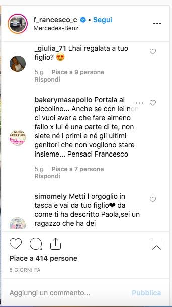 """Paola Caruso: Francesco Caserta e il regalo improvviso per Michelino: """"Consegna speciale!"""""""