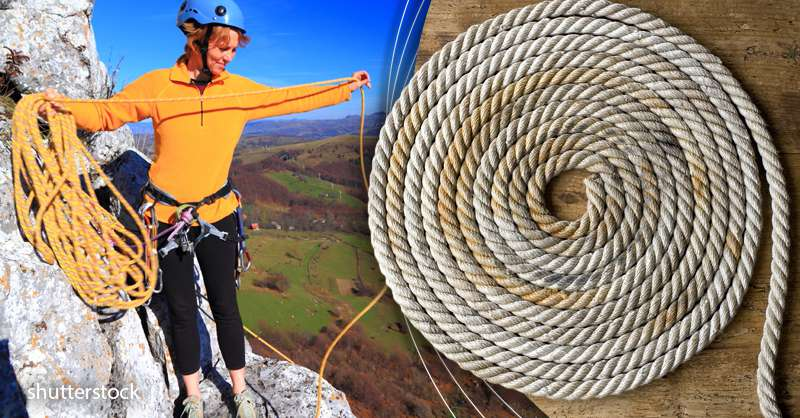 How To Coil A Rope: Tutorial For 2 Basic Knots