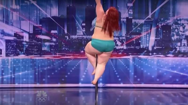 Weight Doesn't Determine Talent: Plus-Sized Contestant Confidently Pole Dances In Front Of Judges On America's Got Talent