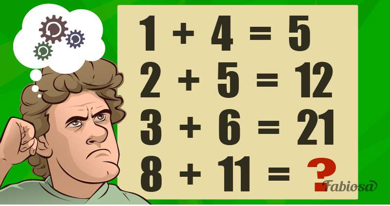 Are You A Whizz At Math Puzzles? Let's Check Your Logic And Critical Thinkingriddle, logical, mathematics, man