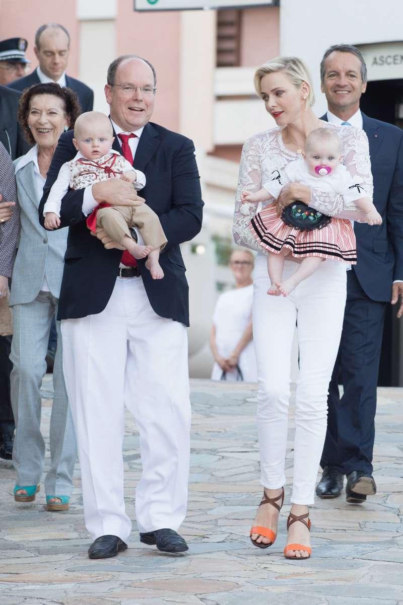 Princess Charlene Of Monaco Shared Touching Christmas Portraits Of The Grown-Up Twins