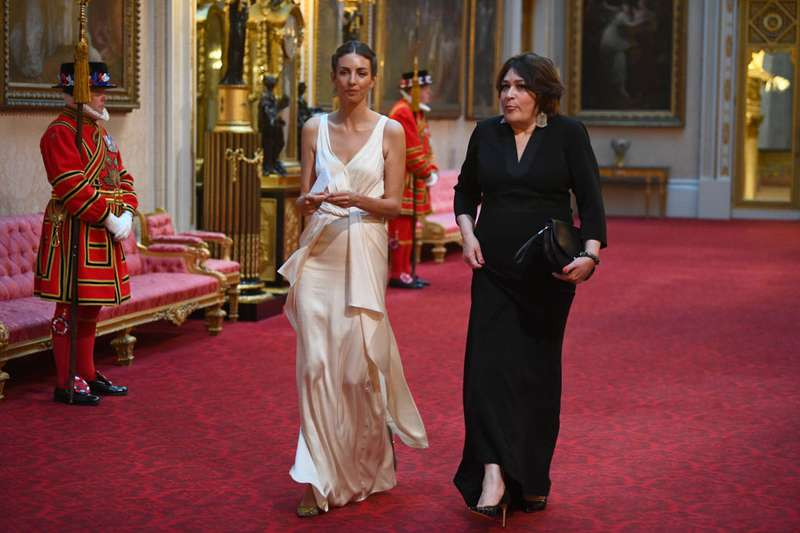 Rumeur ou réalité ? Rose Hanbury, supposée amante de William, ne portait pas son alliance au banquet de Buckingham