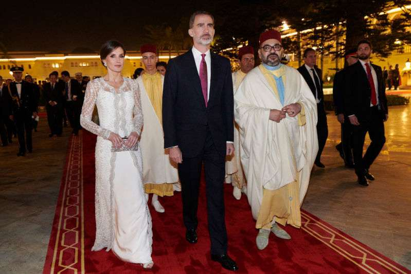 Queen Letizia Vs Meghan Markle: Are The Style Icons Inspired By Each Other's Images?letizia in morrocco
