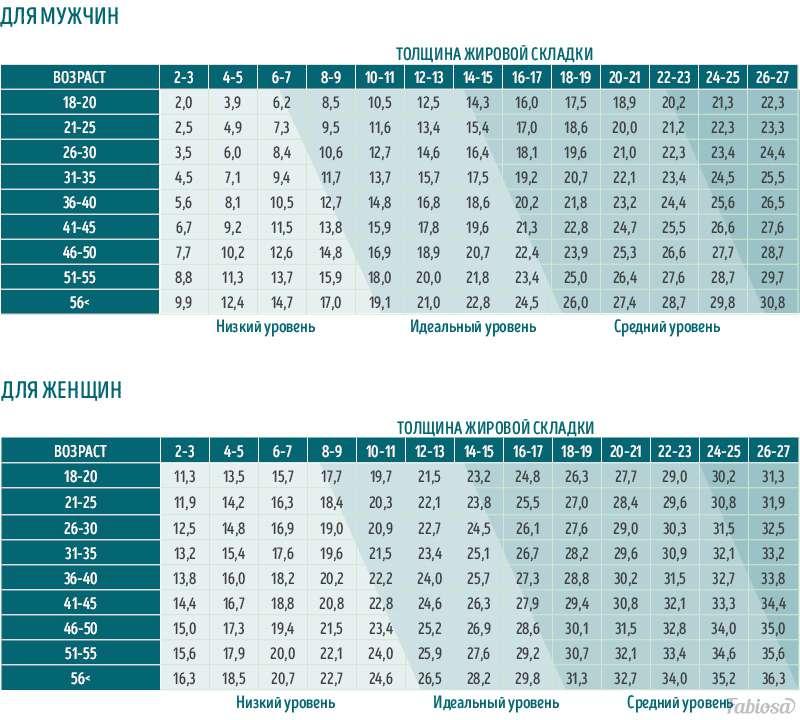 Норма или лишний вес? Как измерить процент жира в организме при помощи обычной линейкиНорма или лишний вес? Как измерить процент жира в организме при помощи обычной линейкиНорма или лишний вес? Как измерить процент жира в организме при помощи обычной линейки