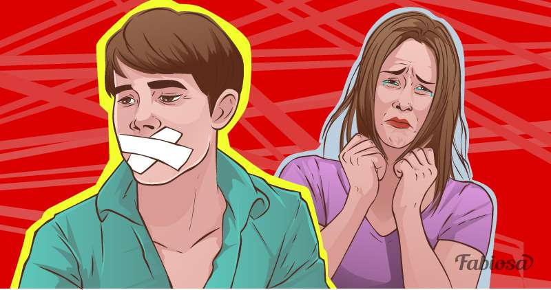 Inner Censor: 7 Signs Your Relationship Is Nearly Overcouple, man, woman, quarrel, silence