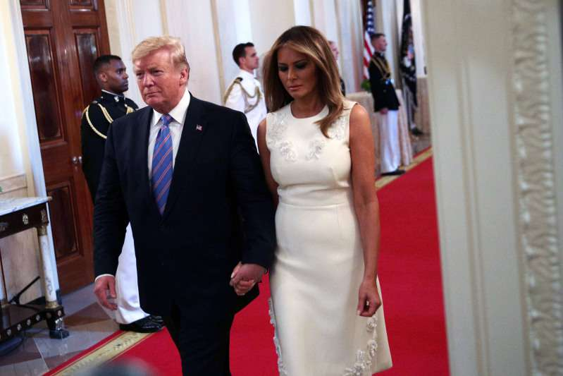 Melania Trump Gives Off Bridal Vibes In A Dreamy White Midi Dress As She Appears At Celebration Of Military MothersMelania Trump Gives Off Bridal Vibes In A Dreamy White Midi Dress As She Appears At Celebration Of Military MothersMelania Trump Gives Off Bridal Vibes In A Dreamy White Midi Dress As She Appears At Celebration Of Military MothersMelania Trump Gives Off Bridal Vibes In A Dreamy White Midi Dress As She Appears At Celebration Of Military Mothers