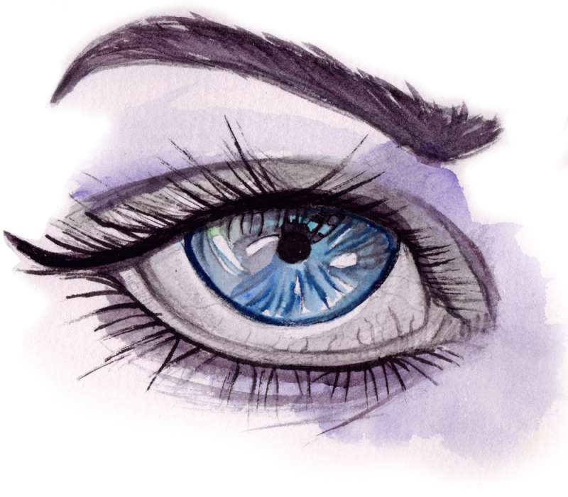 How To Draw Arched Eyebrows On Paper And Master Eyelashes On Fabiosa