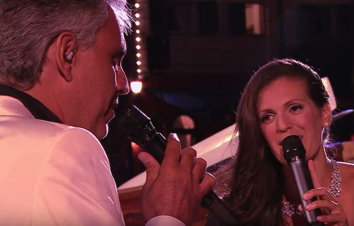 Andrea Bocelli Sang A Duet With His Beautiful And Talented Wife, Veronica Berti, And All In Attendance Were Moved To Tears