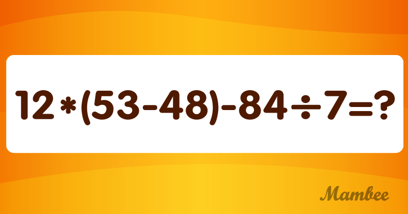 Bereit für etwas Mathe? Diese Aufgabe ist heikel; denken Sie, dass Sie sie lösen können?Bereit für etwas Mathe? Diese Aufgabe ist heikel; denken Sie, dass Sie sie lösen können?