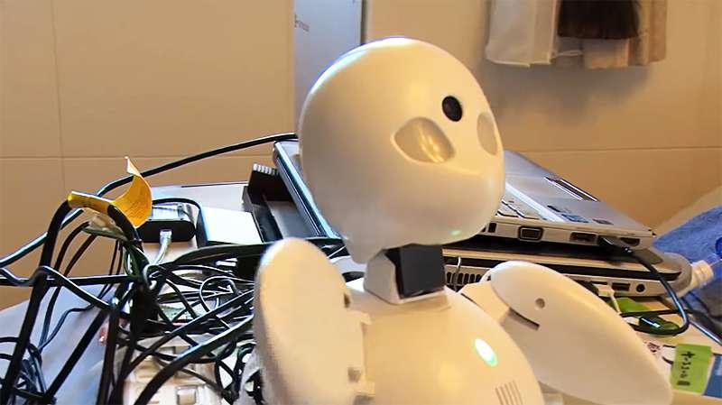 Японская инновация: лежачие инвалиды управляют роботами-официантами в кафе