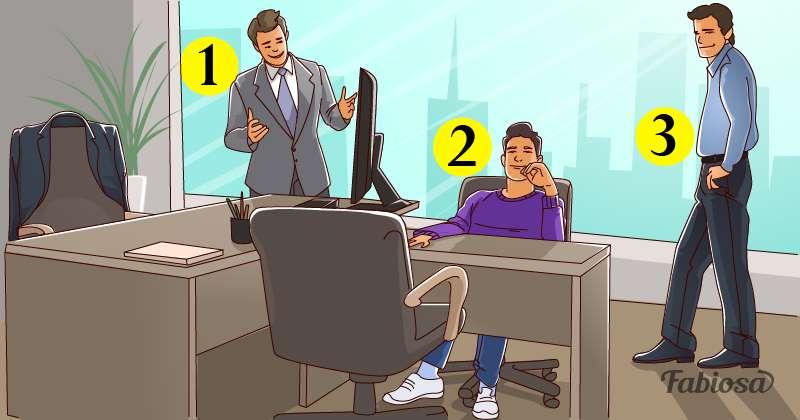 Un rompecabezas que sólo se resuelve con lógica: ¿quién es el dueño de la oficina?logical riddle