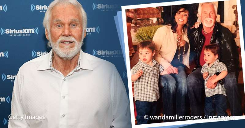 Kenny Rogers' Twin Sons Join Him For A Rare Family ...