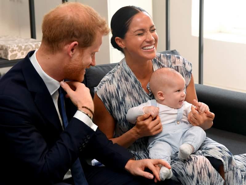 """""""Son muy dichosos siendo padres"""": Harry y Meghan no pueden ocultar cuánto aman a Archie, según expertos"""