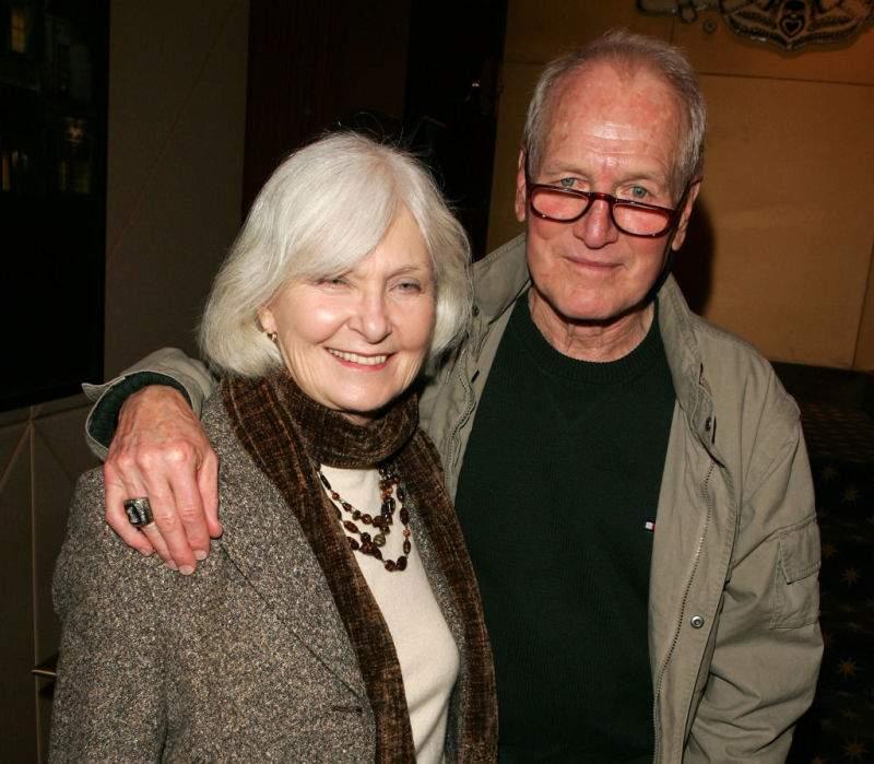 Por culpa del Alzheimer, la viuda de Paul Newman ya no puede recordar al amor de su vida