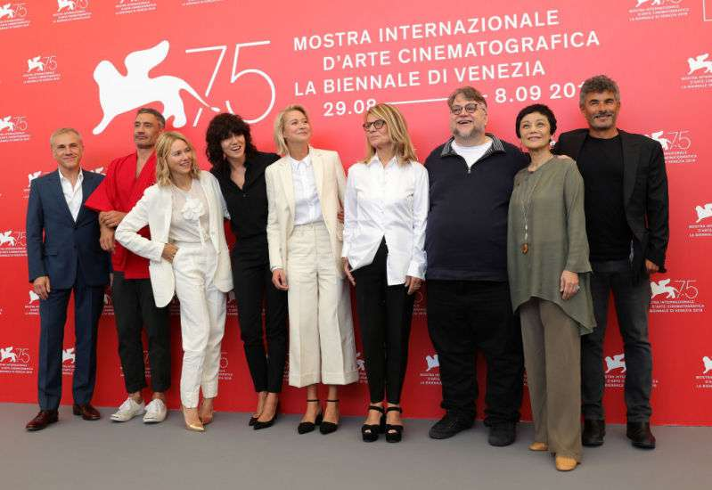 Venice International Film Festival, Jury photocall