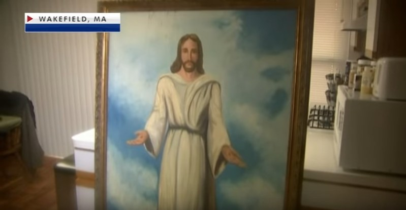 True Miracle Or A Happy Coincidence? A Large Painting Of Jesus Survives A Massive 7-Alarm Fire That Completely Destroys Historic Church
