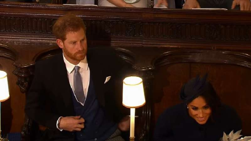 Body Language Expert Reveals That Pregnant Meghan Markle Had An Argument With Her Husband During Princess Eugenie's Wedding
