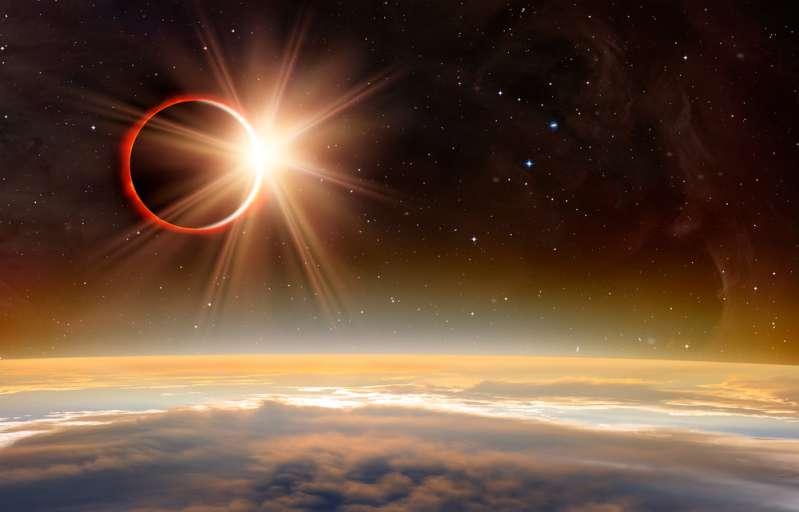 An diesem Wochenende können Himmelsbeobachter eine sagenhafte totale Mondfinsternis erleben. Es wird atemberaubend aussehen!