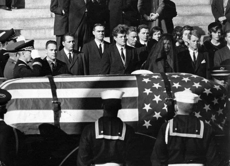 Iconic Picture Of 3-Year-Old John F. Kennedy Jr. Saluting His Father's Coffin Is Still Moving 55 Years After The Notorious Tragedy